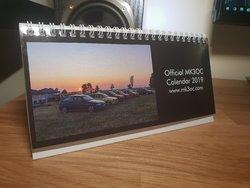 MK3OC 2019 Desk Calendar